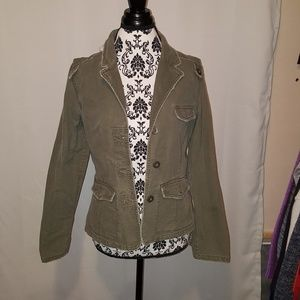 Olive Green light jacket
